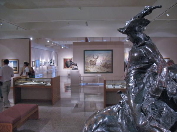 In the Whitney museum at the BBHC (Cody, Wyoming)